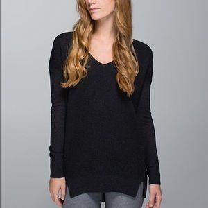 Lululemon The Sweater Life Black